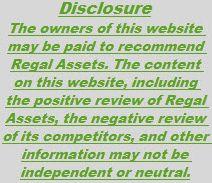 RA Disclosure